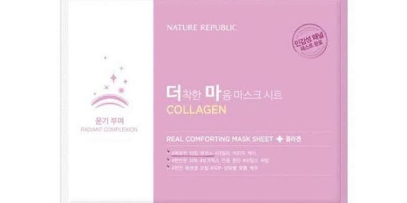 4. Nature Republic Collagen mengontrol sebum berlebih