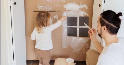 Cara Kreatif Berkreasi Bareng Anak Rumah Lewat Heuristic Play