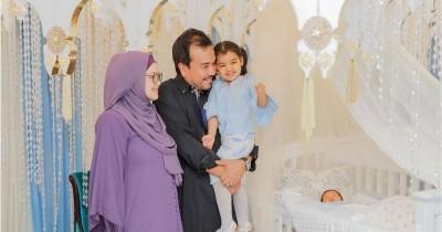 Hikmat, Momen Akikah Pemberian Nama Anak Kedua Siti Nurhaliza