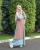 2. Anisa Rahma gamis berwarna cerah simpel