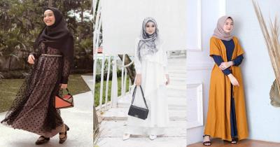 Tak Perlu Beli Lagi, 5 Ide Baju Lebaran dengan Gamis Polos