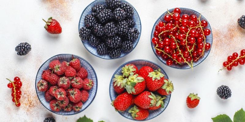 3. Varian buah beri membuat berat badan lebih stabil