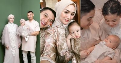 Deretan 10 Bayi Seleb Indonesia Merayakan Lebaran Pertama Kali