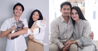 7 Pasangan Artis Merayakan Lebaran Pertama Sebagai Suami Istri