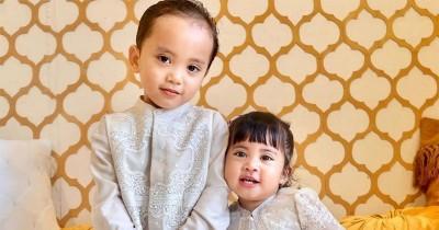 7 Potret Ceria Anak Seleb saat Hari Lebaran, Gemas Banget