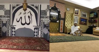 Mewah Bernuansa Islam, Ini 5 Desain Interior Musala Rumah Seleb