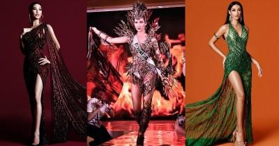 7 Potret Pakaian Perwakilan Indonesia Dalam Ajang Miss Universe