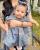 4. Momen hari Lebaran pertama baby Kalu