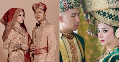 Tampak Elegan 10 Pasangan Artis Foto Pre-Wedding Adat Minang