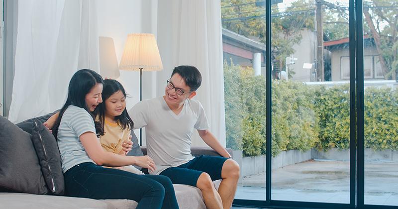 1. Membangun lingkungan rumah seimbang