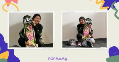 Eksklusif Nyimas Bunga Buktikan Hijab Bukanlah Penghalang Menjadi Atlet Skateboard