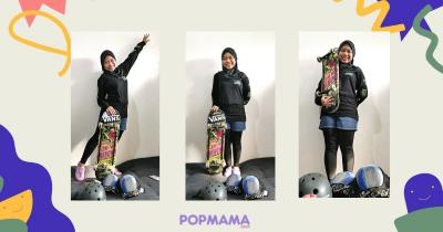 Eksklusif Tips Sukses Atlet Skateboard Nyimas Bunga Cinta, Hobi Bisa Menjadi Profesi