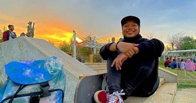 Eksklusif Sebagai Atlet Skateboard Segudang Prestasi, Apa Bentuk Dukungan Orangtua Nyimas Bunga Cinta