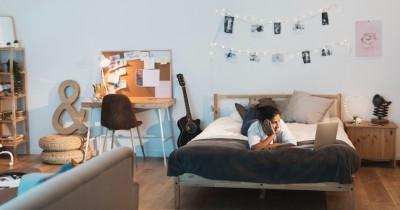 Ide Warna Cat Dinding Kamar Tidur Baik Kesehatan