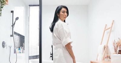 Sangat Estetik 5 Potret Kamar Mandi Tyas Mirasih a la Pinterest