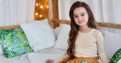 15 Potret Anastasiya Knyazeva Model Cilik Asal Rusia Mirip Barbie
