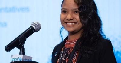 Remaja NTT Suarakan Perlindungan Anak PBB, Dapat Penghargaan KPAI