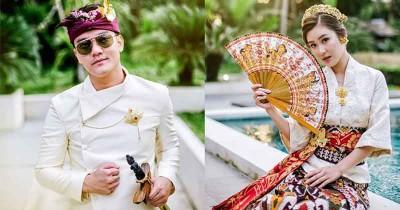 7 Potret Pre-Wedding Boy William Karen Vendela Bernuansa Bali