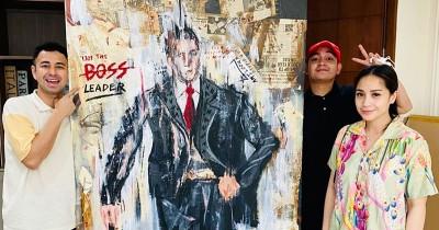 Menyentuh Ternyata Ini Makna Lukisan Mewah Raffi Ahmad