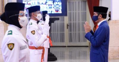 Sambut HUT RI ke-76, Yuk Daftar Upacara Virtual Bareng Presiden Jokowi