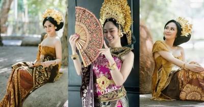 Tampil Memesona Ini Dia Potret Denise Chariesta Pakai Baju Adat Bali