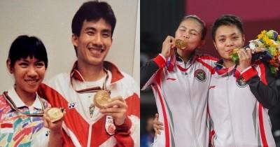 8 Foto Peraih Medali Emas Atlet Bulutangkis Indonesia Olimpiade