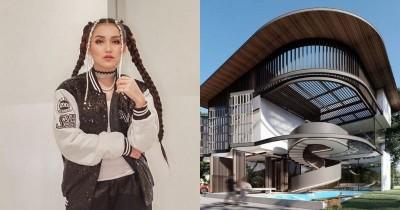 Serasa Bangunan Mal 10 Potret Desain Rumah Ayu Ting Ting Mewah