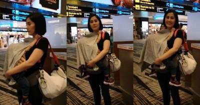 Cerita Perjuangan Menyusui Ardina Rasti, Sampai Berdiri di Bandara