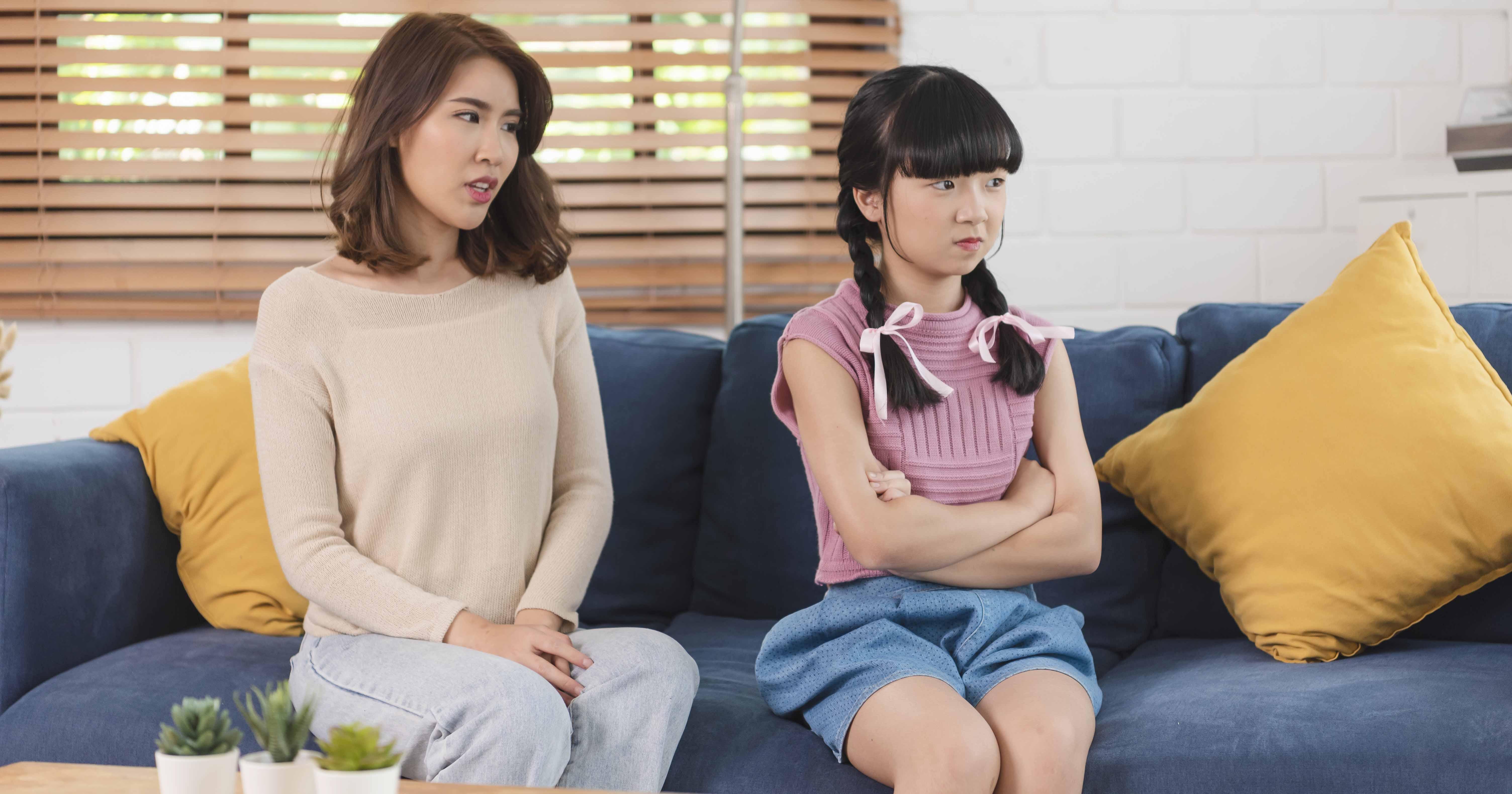 2. Penting juga menunggu anak agar tenang