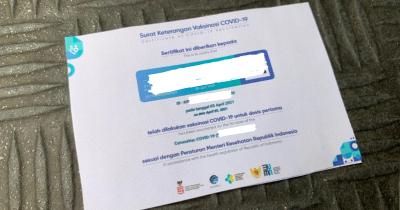 Sertifikat Vaksin akan Jadi Syarat Aktivitas Publik Jakarta