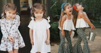 11 Ide Foto Anak Kembar agar Lebih Estetik dan Menggemaskan