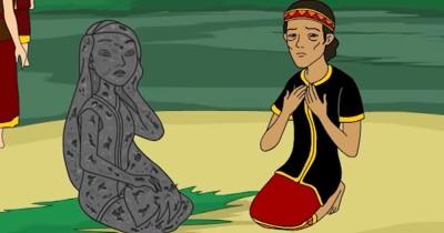 Dongeng Anak Nusantara Legenda Batu Menangis