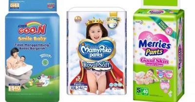 Rekomendasi Popok Celana Anak Lembut Nyaman Digunakan