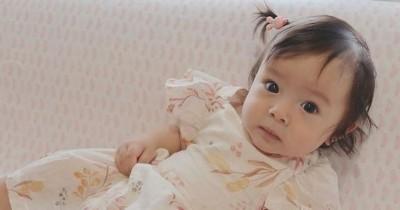 7 Potret Baby Chloe, Anak Asmirandah saat Imunisasi Drive Thru