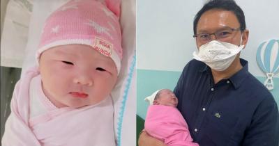 Disebut Mirip sang Papa, Ini Foto Baby Sarah Anak Kedua Ahok dan Puput