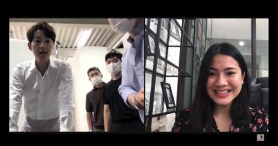 Ngidam Kesampaian, Felicya Angelista Video Call dengan Song Jong Ki