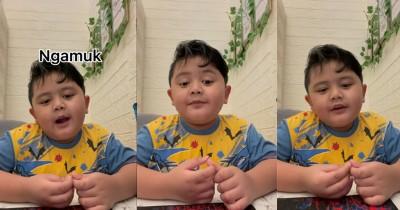 Viral Video Lucu Anak Curhat Mama Galak Kalau Rumah Berantakan