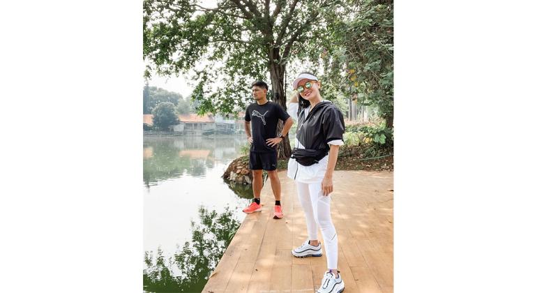 5. Outfit matching saat olahraga bareng pasangan