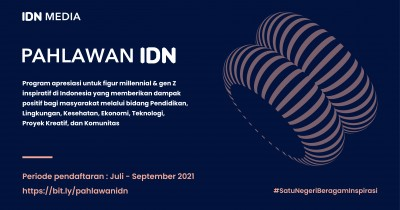 IDN Media Adakan Program Pahlawan IDN Apresiasi Sosok Inspiratif