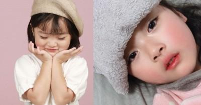9 Potret Yuli, Selebgram Cilik Korea Dijadikan Stiker Whatsapp