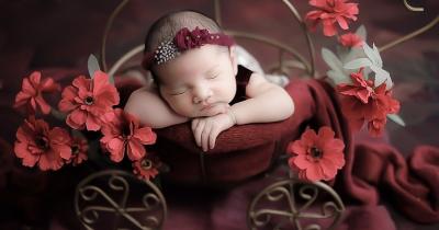 Momen Photoshoot Pertama Anak dari Nella Kharisma, Gemas Banget