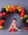 4. Doa Ammar Zoni Irish Bella ulang tahun ke-1 Baby Air