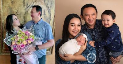7 Potret Bahagia Keluarga Ahok Bersama Puput Nastiti Kedua Anaknya