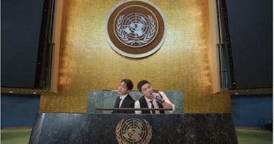 BTS 5 Penyanyi Pernah Tampil Gedung PBB