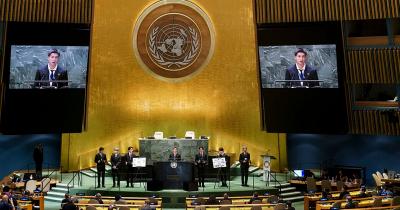 Pidato Lengkap BTS Acara Sidang Umum PBB ke-76