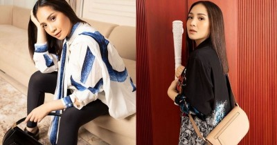 Steal the Style Nagita Slavina saat Hamil Tampil Fashionable