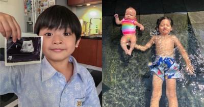 9 Potret Reo, Anak Pertama Mama Tiwi Eks T2 Penyayang Banget