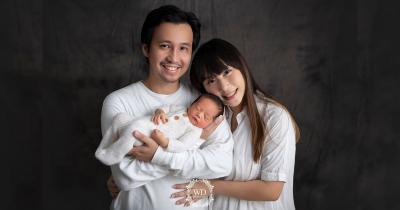 Potret Baby Sean, Putra Kedua Cherly Juno yang Lahir di Tanggal Cantik