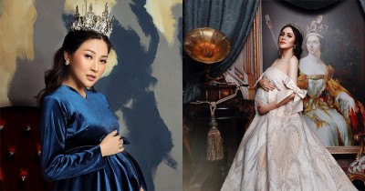 9 Foto Maternity Artis Bertema Kerajaan, Anggun Bak Seorang Ratu