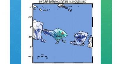 Gempa Magnitudo 4,8 Guncang Bali dan Lombok, Menewaskan 1 Orang Anak